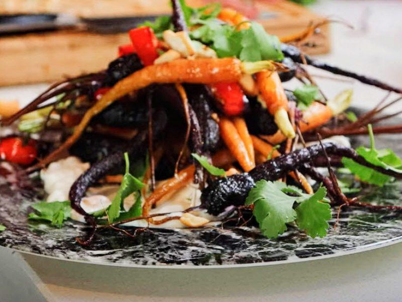 Cashew Chilli Carrots